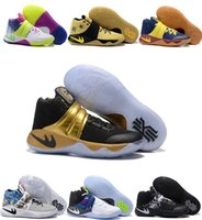 Wholesale Cheap Ties Online - 2016 Newest Kyrie 2 ll Irving Men Basketball Shoes,Kyrie2 Tie Dye BHM Bright Crimson All Star Basketball shoes Sneakers Cheap Sale Online