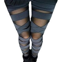 Wholesale Knit Leggings Pattern Free - 2016 New Pattern Ma'am Spring And Summer Heat Sell Milk Silk Fashion Nine Part Gauze Binding Fake Meat Underpant Fall Pants Leggings