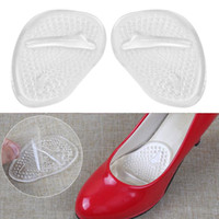 High Heel Soft Silicone Gel Cushion Antiderrapante palmilhas Front Pad Feet Shoe Foot Massage Care Outdoor Protector Pads