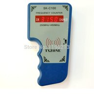 Wholesale Remote Frequency Reader - Wholesale- SK-C100 frequency reader,frequency counter,Digital Frequency Checker,.remote master