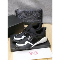 Wholesale Dinner Shoes - 2017 Y3 Casual Shoes Brand Luxurious Y-3 Pumps Business Affairs Agrafe Butterfly Decoration Party Dinners Shoes