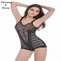 Wholesale Girly Lingerie - Wholesale-New Arrival Lace Bodysuit Sexy Lingerie Ultrathin Postpartum Abdomen Waist Corset Hip Girly Breast Care Hot Shapers JY 1064