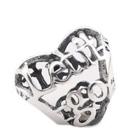 Wholesale let bracelets resale online - New Authentic Sterling Silver Fine Jewelry Let It Go Openwork Heart Charm Beads For Women Fits Pandora Bracelets DIY Jewelry