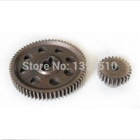 Wholesale Reduction Gear Motor - HSP RC 1 10 11184 & 11176 Differential Steel Metal Main Gear 64T Motor Gear 26T gear reduction electric motor