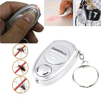 Key Clip Keychain Electronic Ultrasonic Pest Mosquito Insect Repeller for pest Insect