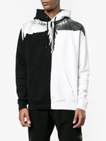 Wholesale Wings Casual Hoodie - New Arrivals 2017 autumn hooded tracksuit men brand-clothing fashion Wings print hoodies male top quality casual tracksuit