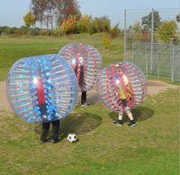 futebol bola rolante zorb venda por atacado-PVC inflável bola inflável zorb bola amortecedor crianças adulto bolha bolas de futebol bola de futebol esporte com 1 m 1.2 m 1.4 m 1.5 m