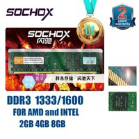 Wholesale Memory Ram Ddr3 2gb Desktop - China sales top 1 Brand New Sealed Sochox DDR3 1333Mhz  1600MHZ 2GB 2G 4GB 4G 8GB 8G for Desktop RAM Memory