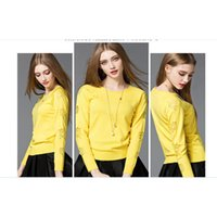 Wholesale Cardigan Out Wear - Floral Cardigans Sweaters Work Casual Wear Simple Type Ladies Pullover Sweaters Cardigans for Women with Computer Knitted A020