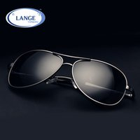 Wholesale google sunglasses resale online - Brand Design Sunglasses Men Polarized UV400 Eyes Protect Sports Coating Sun Glasses Women Google Pilot