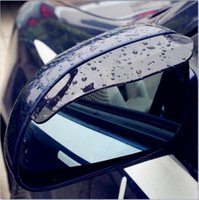Wholesale Mirror Audi - Auto Car Rain Shield Sticker Car Rear Mirror Rain Shade Audi a4 b6 a3 a6 c5 a4 b8 b7 c6 q5 a5 b5