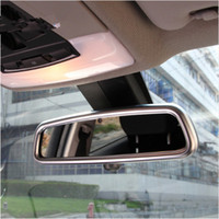 Wholesale Chrome Rearview Mirrors For Cars - Car Chrome ABS Styling Rearview Mirror Decoration Frame Decals For Land Rover Range Rover Sport Auto Interior Accessories
