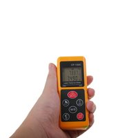 Wholesale Mini Laser Distance Measure - New Mini Laser Distance Meter CP-100C Max100m Digital Range Finder Use Pythagoras Function Remote Measuring Height Or Length
