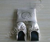 dobre sapatos baixos venda por atacado-2018 Venda quente dobrável ballet flat vending shoes dobrar bailarina