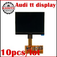 Wholesale Audi S3 Vdo Lcd Display - 10pcs Free Shipping Newest Version LCD Cluster Display For AUDI TT S3 A6 VW VDO display Jeager free dhl