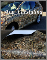Wholesale Grass Film - Realtree Camo Vinyl wrap Grass leaf camouflage Mossy Oak Car wrap Film foil for Vehicle skin styling covering stickers