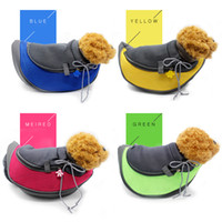 Wholesale Wholesale Cat Carriers - 46*25*12Cm Dog Carrier Pet Backpack Breathable Pets Front Cat Dog Supplies Carriers Backpacks Easy-Fit Fortraveling Hiking Camping
