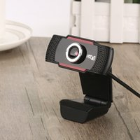 Wholesale pc web cams - USB Web Cam Webcam HD 300 Megapixel PC Camera with Absorption Microphone MIC for Skype for Android TV Rotatable Computer Camera