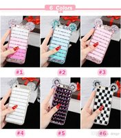 Wholesale Diy Iphone 4s Casing - Fashion Luxury Case For Iphone6 6 plus Mickey Mouse Ears Rhinestone Crystal Case iphone 5 5s 4s Diamond Skin Glitter DIY Bling Cover
