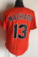 Wholesale Baseball Uniform Wholesale - 2016 NEW Orioles 13 MACHADO Throwback Jersey, personality 5 ROBINSON Ice Hockey Jerseys,MENS quality 8 RIPKEN Hockey Wear uniform