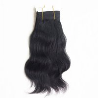 Wholesale Free Weave Hair Packs - Hair Products Top Brazilian Body Natural Wave Hair Weave 12inch 110g pcs Remy Hair With Packing Post Mail Free Shipping