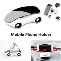 Wholesale Mobile Phone New Model - New 360 Degree Car Model Car Phone Holder Stand Universal Adjustable Mobile Phone Holder For iPhone 6 6s Samsung S8 Plus Desk Stand