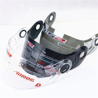 Wholesale Ls2 Visor - wholesale 3 Colors Original LS2 FF370 FF386 FF394 Motorcycle Helmet Lens Visor Silver Smoke Clear Anti-UV Anti-Scratched Visors Shield