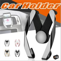 Wholesale Hot Air Holder - Hot Selling Universal Car Air Vent Holder Outlet Adjustable Phone Mount Bracket Cradle For Mobile Phone With Retail package