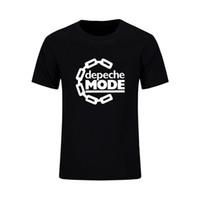 Wholesale Classic Rock Clothing - Wholesale- 2017 Men's Fashion Rock Roll Depeche Mode Classic T Shirts Men Clothing Cotton T-shirt Man Short Sleeve O Neck Male Tops Tees