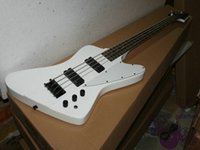 Wholesale Electric Guitar K - New Guitar Factory White K 4 Strings Electric Bass Guitars from china OEM Guitar