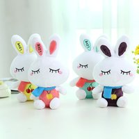 Wholesale Cute Love Comics - Cute Sit Love Rabbit Baby Soft Plush Kids Baby Toys Cartoon Rabbit Stuffed Toys Gift