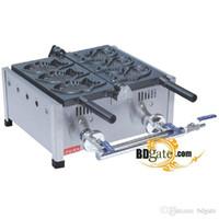Wholesale Used Ice Fishing - Commercial Use Non-stick LPG Gas Ice Cream Bungeoppang Fish Taiyaki Maker Machine Baker Iron