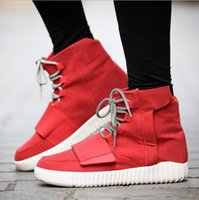 Wholesale High Heels Shoes Models - Fashion explosion models high-top casual shoes 750 boots with Europe and Kanye paragraph coconut popular young men's shoes tide