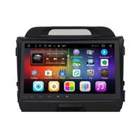 kia sport gps radio android großhandel-Android 6.0 Auto DVD GPS für kia sportage 3G 4G Wifi Bluetooth Karten Rückfahrkamera