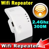 Wireless WiFi Ripetitore 802.11n / b / g Router di rete 300 Mbps WiFi Roteador Expander Amplificatore 2.4GHz con spina UE USA