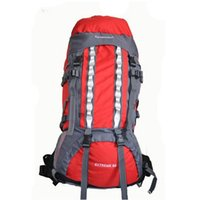 Wholesale Frames Capacity - 80L Outdoor Sports External Frame Backpack Mountain Camping Hiking Backpacking High Capacity Travel Bag Back Pack