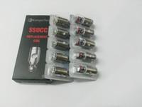 kanger ohms bobinas venda por atacado-Kangertech SSOCC Bobinas verticais Ni200 0.15ohm ssocc bobina 0.5 1.2 1.5 ohm Para kanger Subtank Nebox subvod Atomizador