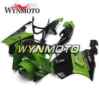 motosiklet fuarları zx7r toptan satış-Sportbike Hulls Kawasaki ZX7R Için Fit 1996 - 2003 93 - 03 ABS Hulls Motosiklet Fairing Kiti