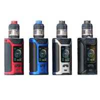 Original Wismec Sinuous Ravage230 Kit Ravage 230 Box Mod Vape 200W Com Gnome Evo Atomizer 2ml / 4ml E Cigarros Vaper a Vape