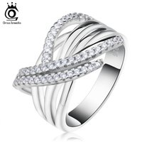 Wholesale Cross Ring Set - Luxury Women Ring with 48 Pieces AAA Cubic Zirconia Unique Cross Design Ring For Women OR82