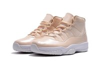 Air Retro 11 Maroon Basketball Shoes Mens Air Retro 11 Marron Beige White Sneakers Taille US 8-13