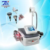 Wholesale Cryolipolysis Cavitation Machine - Professional Vacuum crytheropy cavitation rf lipo laser cryolipolysis fat freeze slimming beauty machine (4 in 1 )