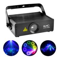Wholesale Sd Ilda Laser - Wholesale-SUNY RGB 400mW Laser SD Card Program Source ILDA 24 CH DMX Animation Projector Stage Lighting PRO DJ Show Scanner Lights SRGB400