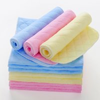 Wholesale Diapers Fasteners - Wholesale 30pcs Newborn Baby Diapers 3 Layers Antibacterial Bamboo Fiber Ecological Cotton Baby Cloth Diapers Free Shipping