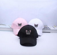 Wholesale New Dog Fashion Brand - New Fashion Casual Visor Ovo Baseball Caps Brand for Women Men Snapback Hats Mesh Cap Dog Hip hop Caps Hats Palace Adjustable
