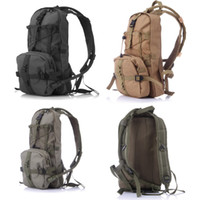 Wholesale Acu Army Backpack - 2016 2.5L Sports Army ACU Water Bag Hydration Pack Bladder Hydration System Camping Water Bag Backpack 3 color Free DHL E603L