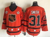 Wholesale Parent Jersey - #31 Smith 99 Gretzky 1980 All Star Mens 19 Trottier 22 Bossy 1 Parent CCM Throwback Hockey NHL Jerseys Free Shipping lymmia