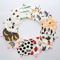 Wholesale Toddler Hat Pattern - Babys hats winter infants newborn cotton hat 2016 new autumn INS wholesale Fruit animal patterns Toddler print hat round 0-3years