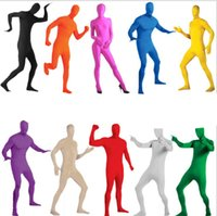 Wholesale Tight Clothes Dance - Fashion new cloak Halloween costumes adult Halloween cosplay tights costume leotard dance clothes preferred invisible elastic Clothes