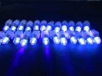 10 Pieces / Lot Bateria operada subaquática Mini LED Party Balloon Light Up-lighting para o novio Christmas Balloon